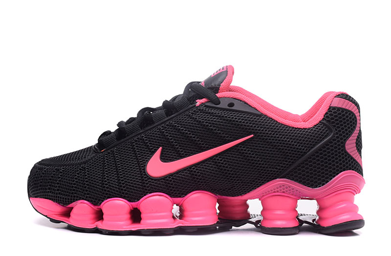 Nike Shox TlX H110 Women Shoes Black Pink