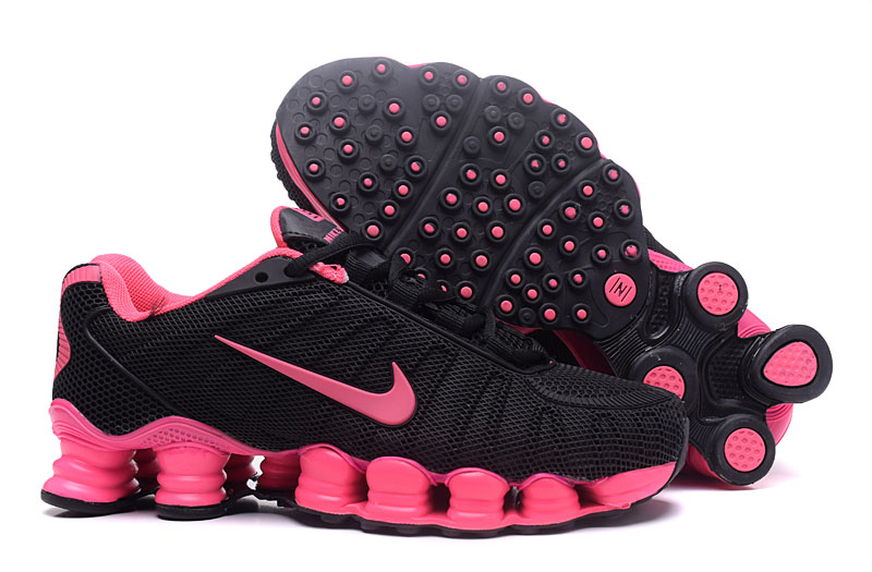 Nike Shox TlX H110 Women Shoes Black Pink - Click Image to Close
