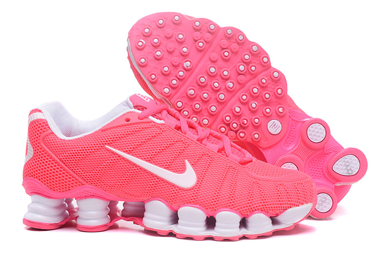 Nike Shox TlX H110 Women Shoes Pink White - Click Image to Close