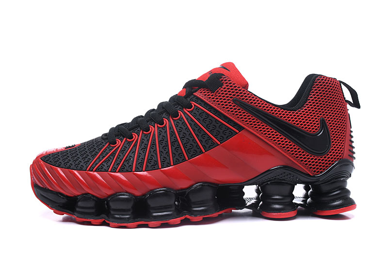 Nike Shox TlX Men Shoes Black Red