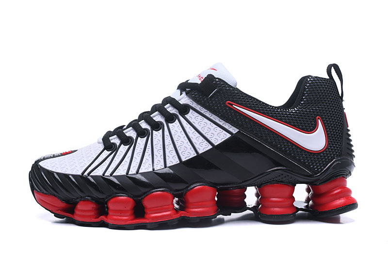 Nike Shox TlX Men Shoes Black White Red