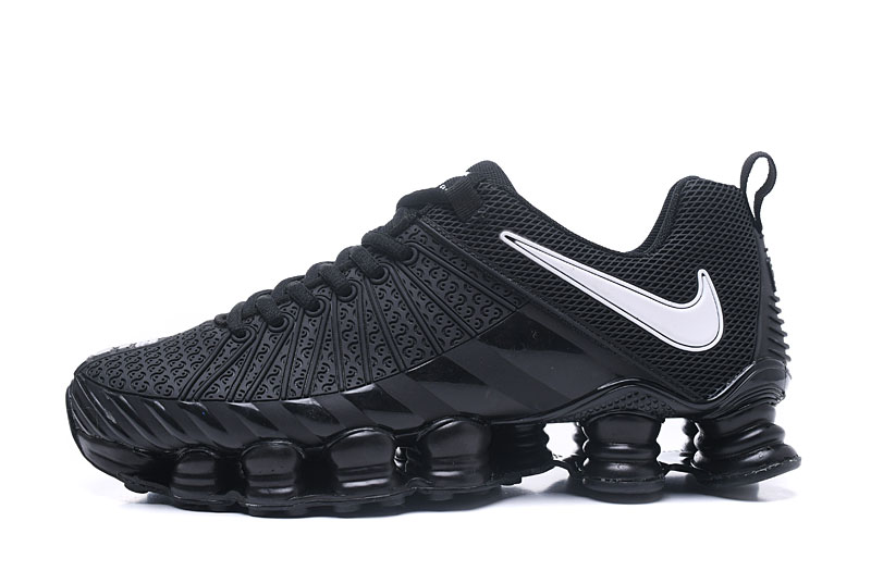 Nike Shox TlX Men Shoes Black White