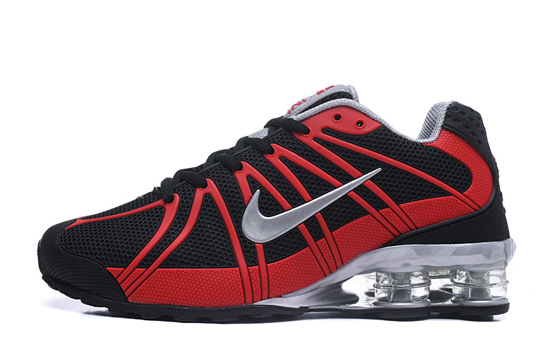 Nike Shox TlX Men Shoes Red Black