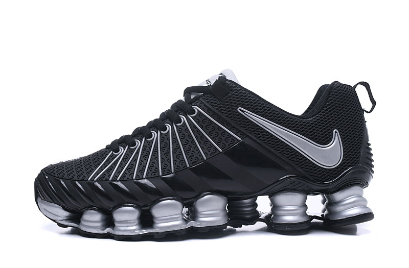 Nike Shox TlX Men Shoes White Black Silver