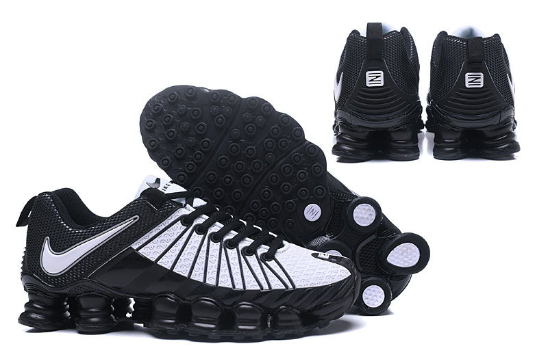 Nike Shox TlX Men Shoes White Black White