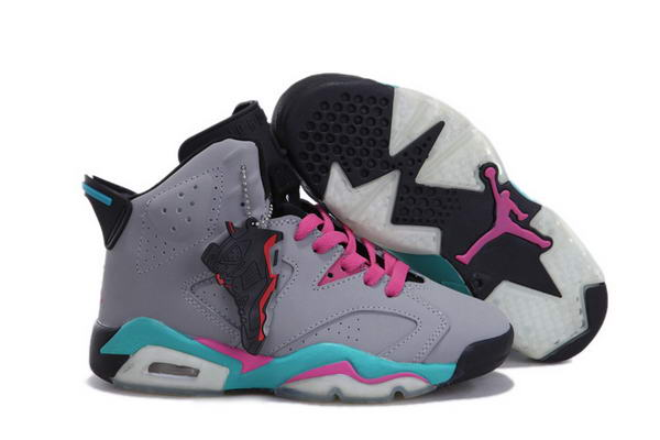 WMS JORDAN VI Shoes Dark gray/Blue