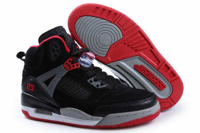 Womens Jordan 3.5 Spizike Shoes Black/Red - Click Image to Close