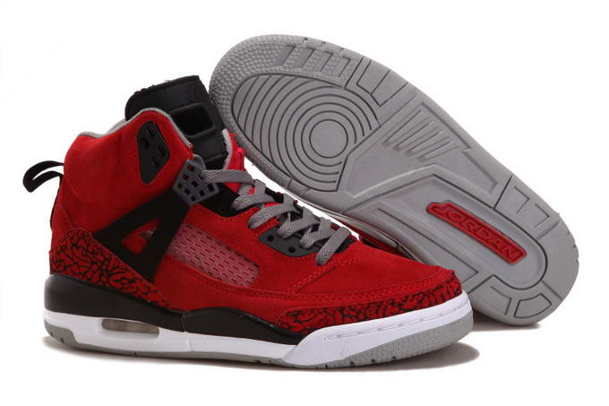 Womens Jordan 3.5 Spizike Shoes Red/Black - Click Image to Close