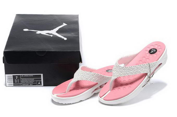 Jordan Women Slippers Shoes Pink