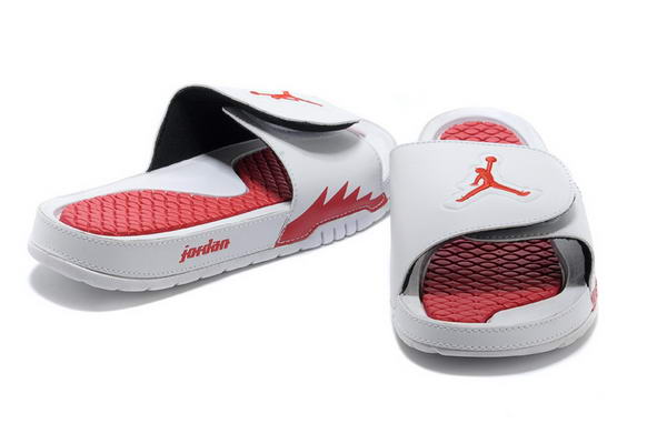 Womens Jordan Hydro Shoes White/Red