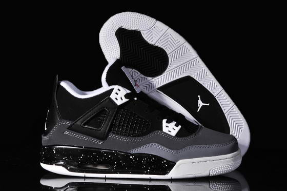 WMNS Jordan 4 Retro Shoes black/white
