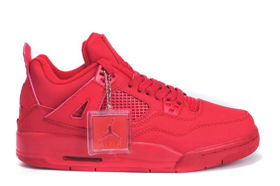 Womens Jordan 4 Shoes china red