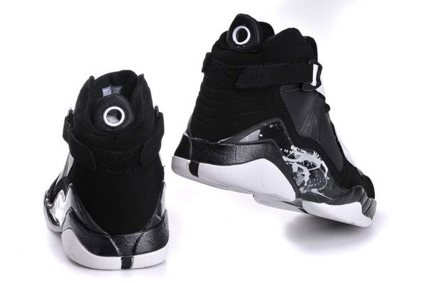 Womens Air Jordan 8 (VIII) Retro Shoes black/white
