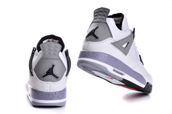Womens Air Jordan 4 (IV) Retro Shoes white/gray black red