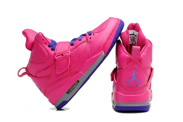 Air Jordan 4.5 Retro Womens Girls Shoes pink/blue