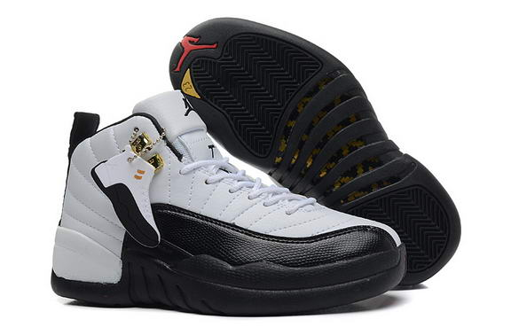 Air Jordan 12 Retro Taxi Womens Shoes White/black taxi