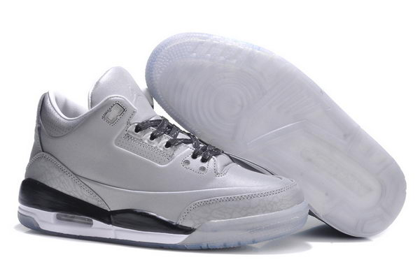 Womens Jordan 3LAB5 GS Shoes silver/black