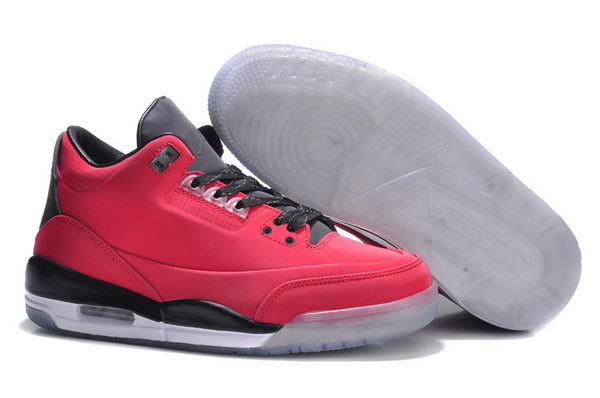 Womens Jordan 3LAB5 GS Shoes Red/black