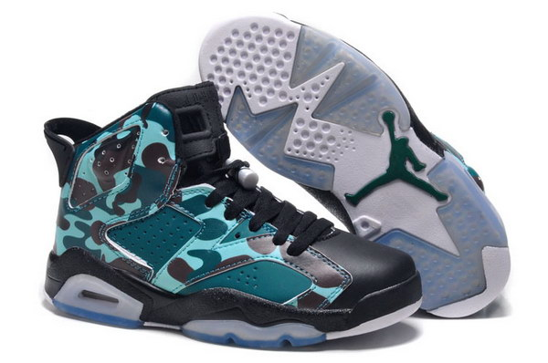 Jordan 6 for Womens Shoes army green/black