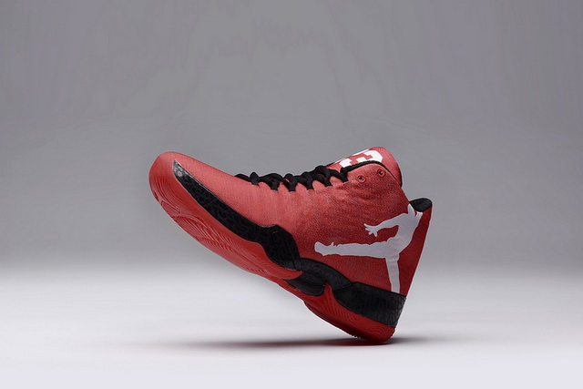 Women Air Jordan XX9 Shoes Red/white black