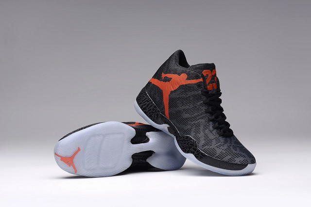 Women Air Jordan XX9 Shoes Black/red