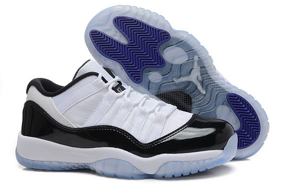 Air Jordan 11 Low Womens Shoes White/black