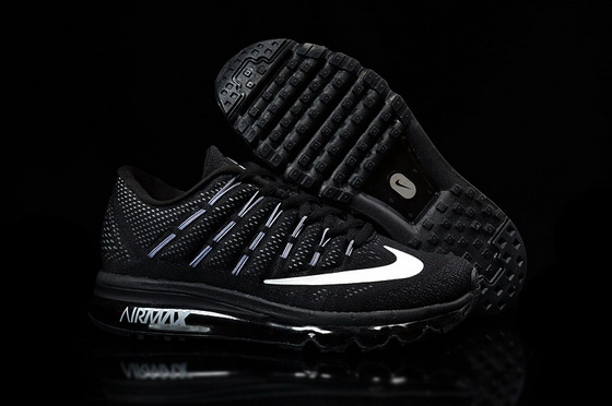 Women's Air Max 2016 Shoes Black/white