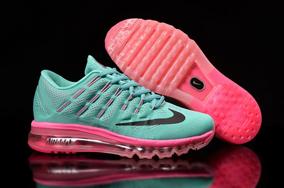 Women's Air Max 2016 Shoes Blue/black pink - Click Image to Close