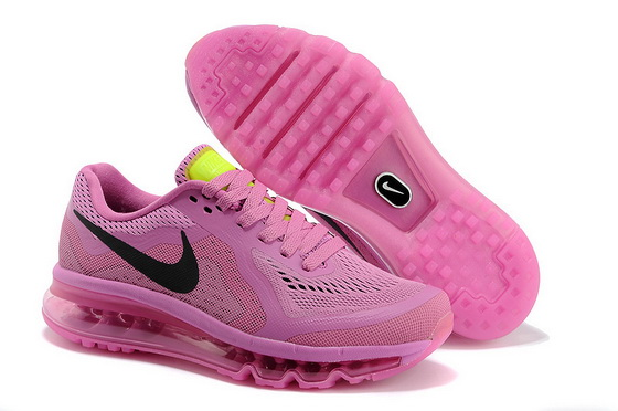 Women's Air Max 2014 Shoes Pink/black