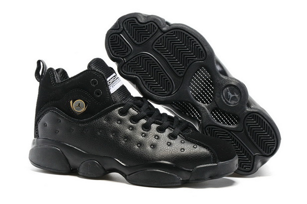"Air Jordan ""TEAM 2"" GS Shoes All Black"