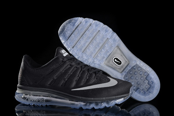 Women's Air Max 2016 Girl Shoes Black/white