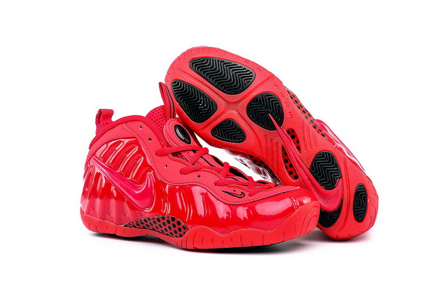 "Womens Air Foamposite Pro ""Red October"" Shoes Red"