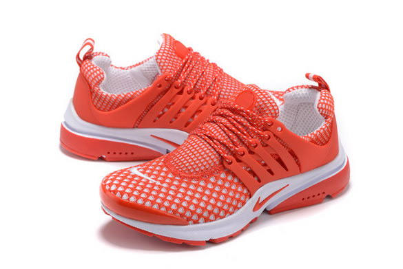 Womens Air Presto Shoes Red/White
