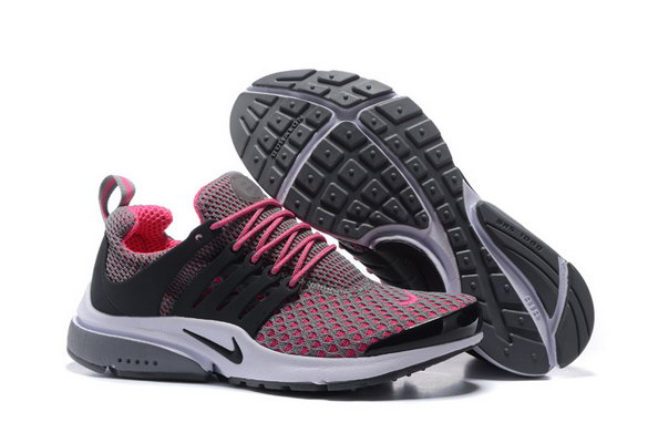 Womens Air Presto Shoes Pink/grey white - Click Image to Close