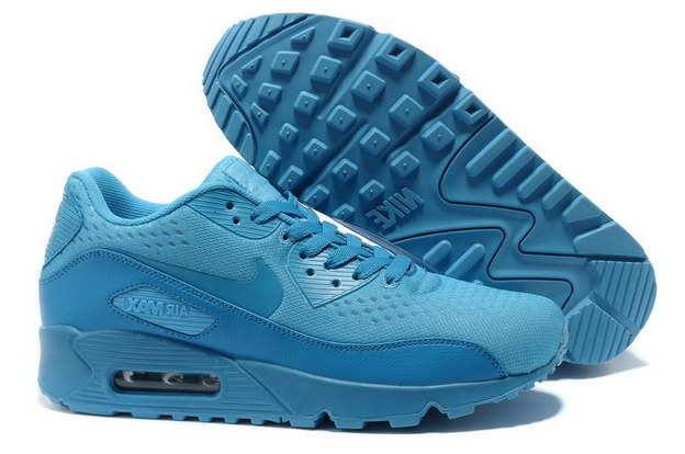 Women's AIR MAX 90 PREMIUM EM Shoes Blue
