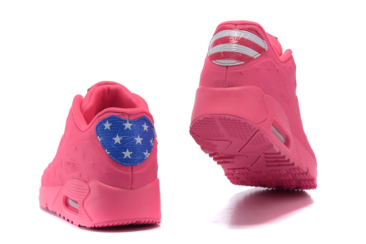 "Women Air Max 90 Hyp ""Independence Day"" Shoes Pink"