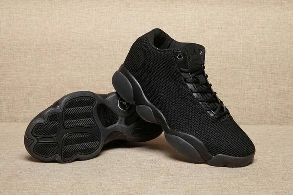 Women's Air Jordan 13 Low Shoes All Black