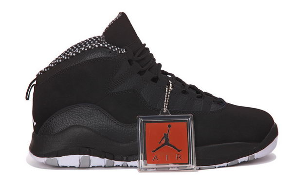 AIR JORDAN 10 RETRO STEALTH 2012 Shoes BLACK/WHITE STEALTH