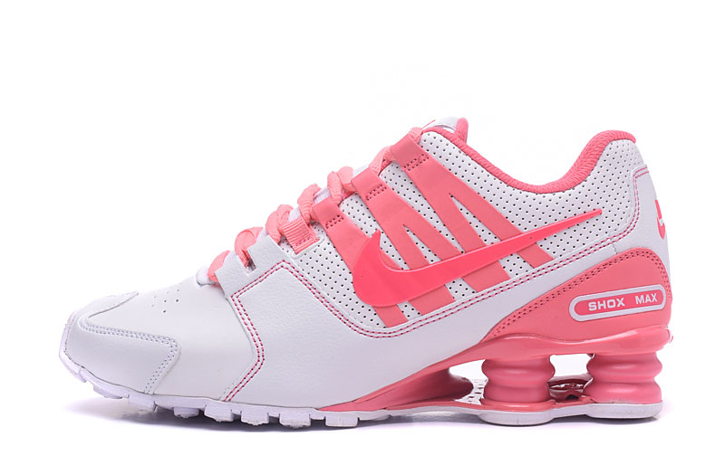 Nike Shox Avenue 803 Women Shoes White Pink